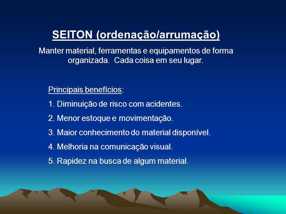 SEITON (ordenação/arrumação)