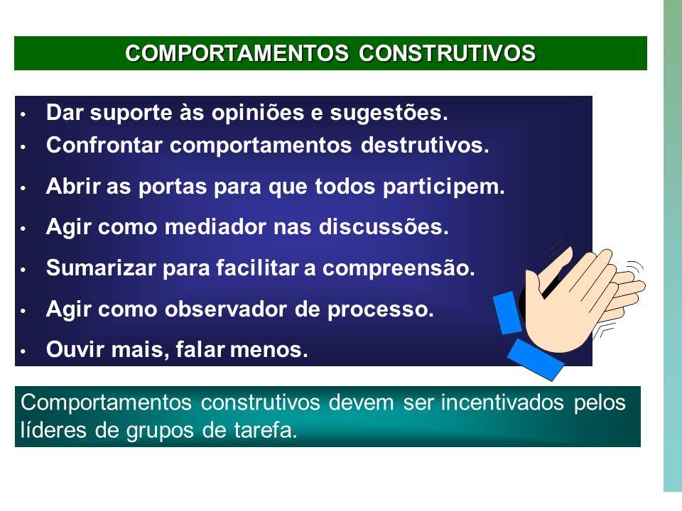 COMPORTAMENTOS CONSTRUTIVOS