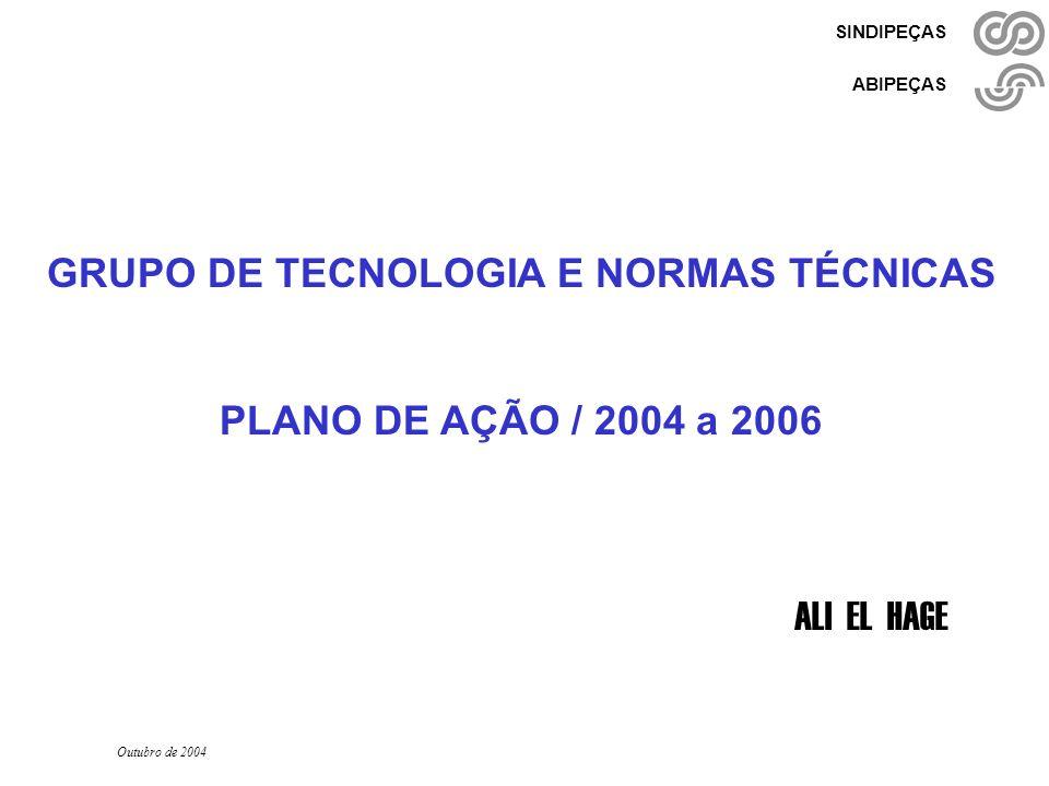 GRUPO DE TECNOLOGIA E NORMAS TÉCNICAS