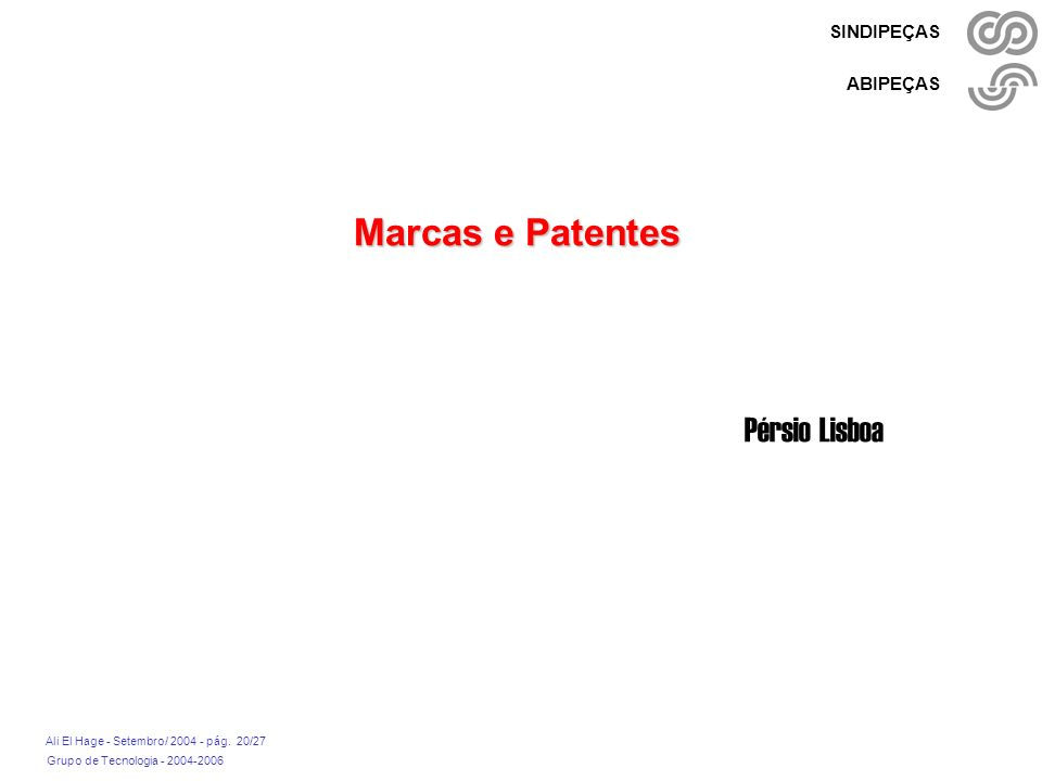 Marcas e Patentes Pérsio Lisboa