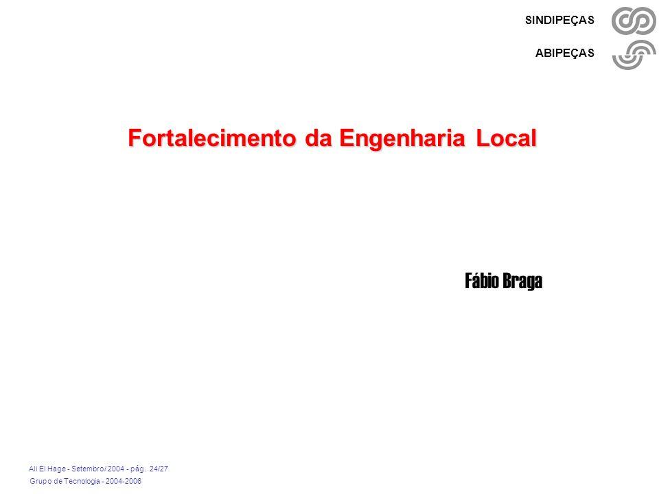 Fortalecimento da Engenharia Local