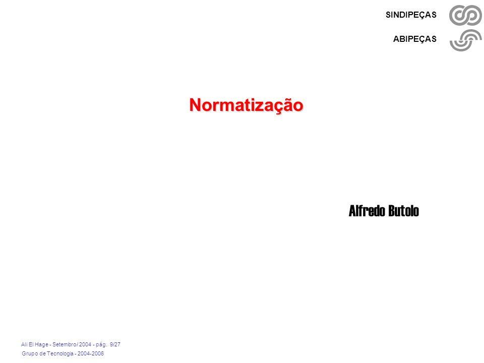 Normatização Alfredo Butolo