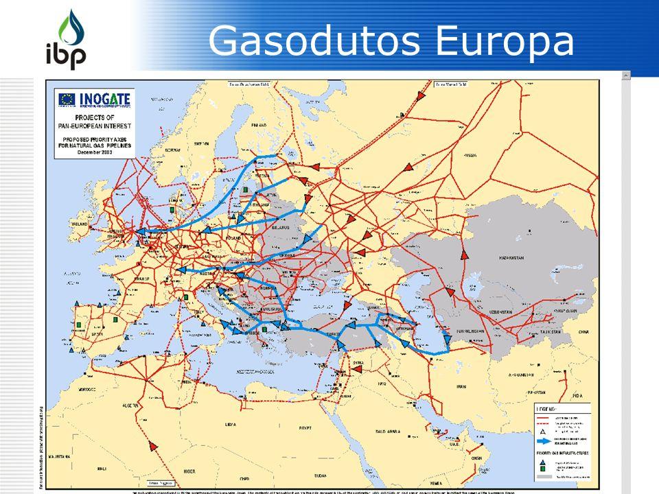 Gasodutos Europa