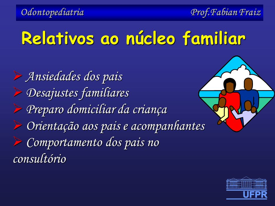 Relativos ao núcleo familiar