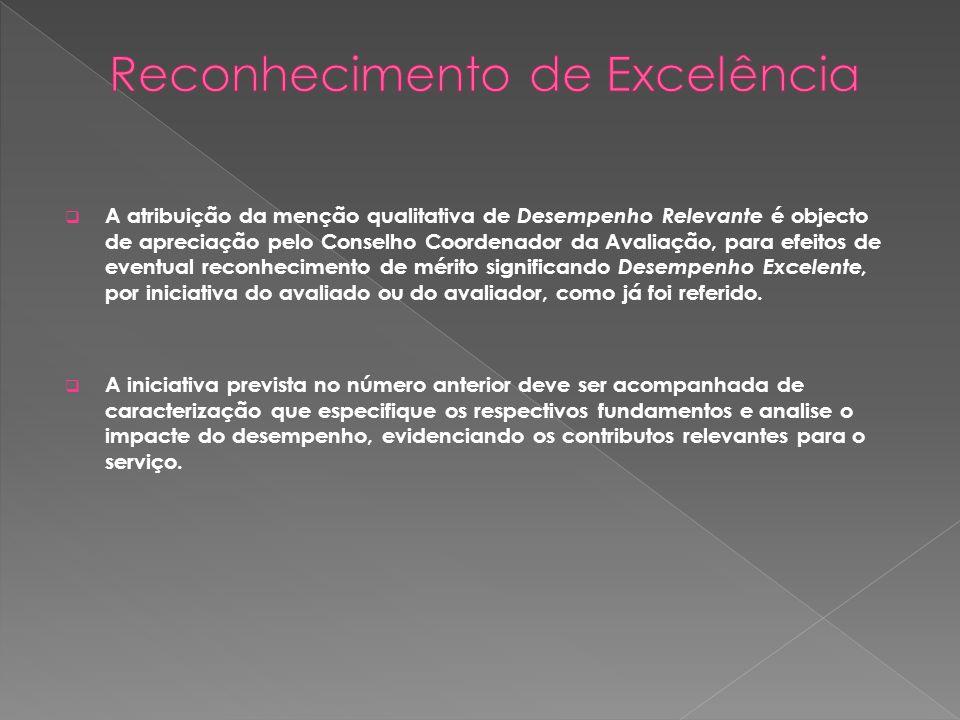 Reconhecimento de Excelência
