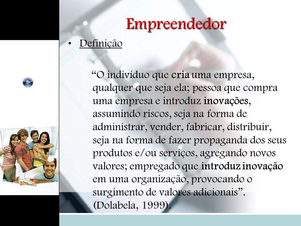 Empreendedor Definição