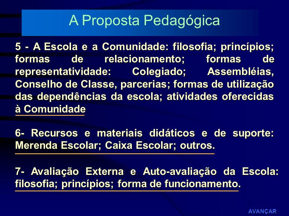 A Proposta Pedagógica