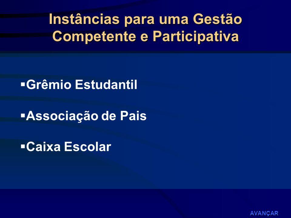 Instâncias para uma Gestão Competente e Participativa