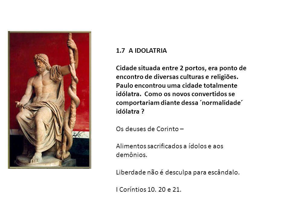 1.7 A IDOLATRIA