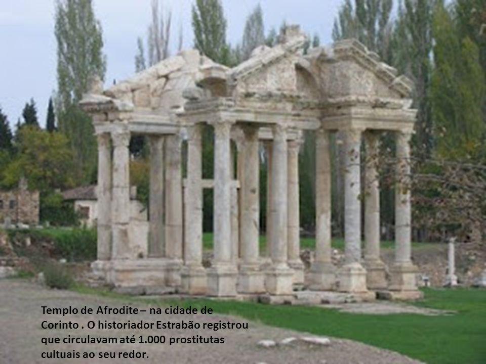 Templo de Afrodite – na cidade de Corinto