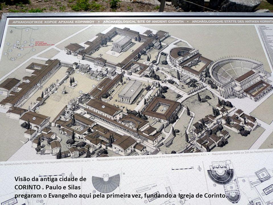 Visão da antiga cidade de