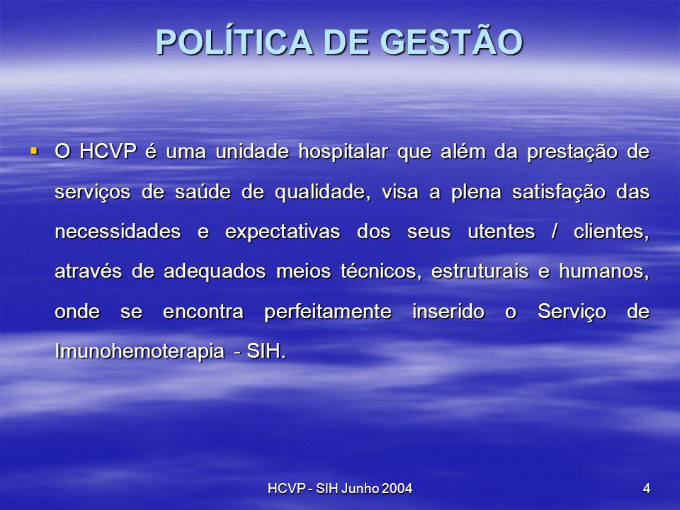 POLÍTICA DE GESTÃO