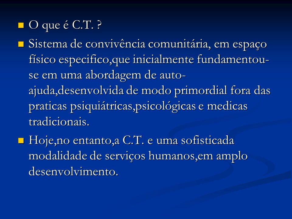 O que é C.T.