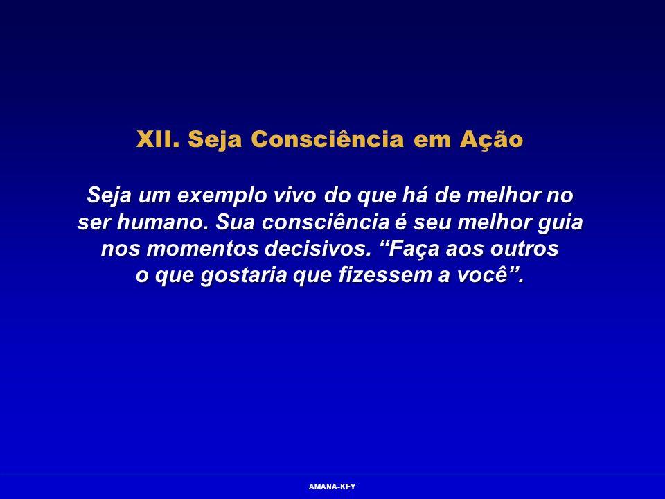 XII. Seja Consciência em Ação