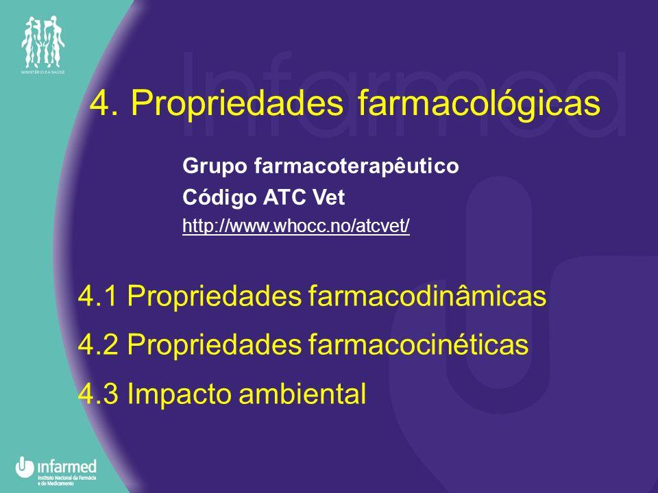 4. Propriedades farmacológicas