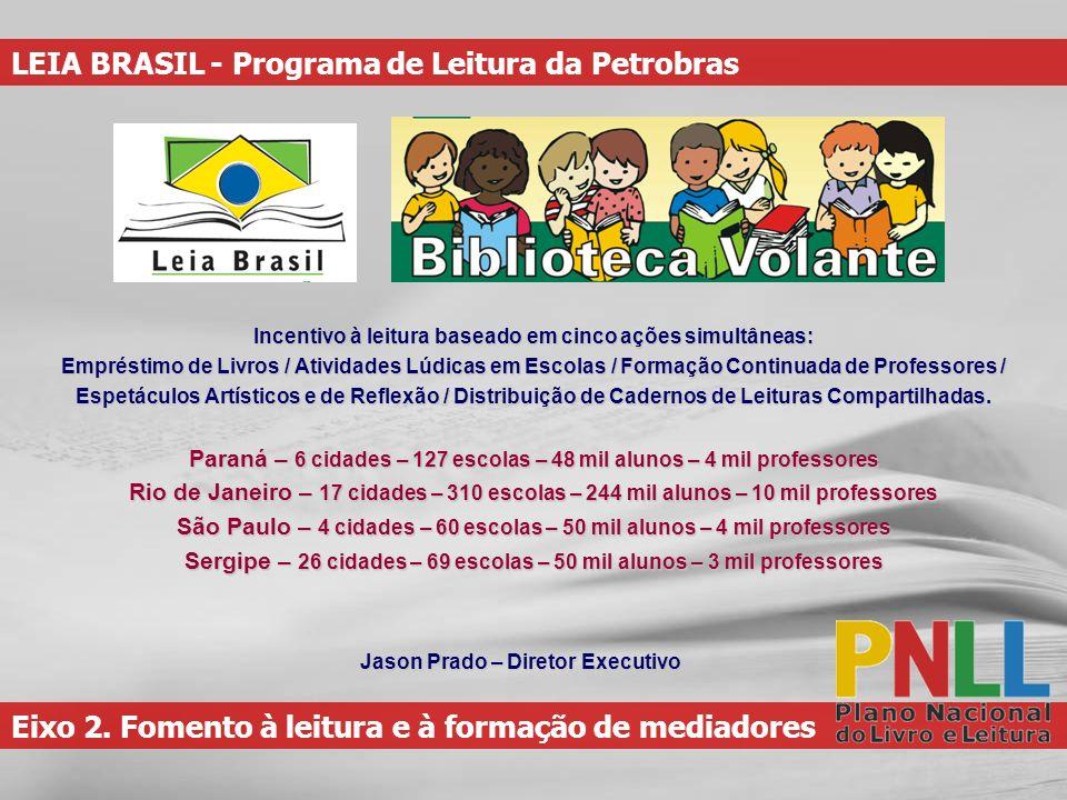 LEIA BRASIL - Programa de Leitura da Petrobras