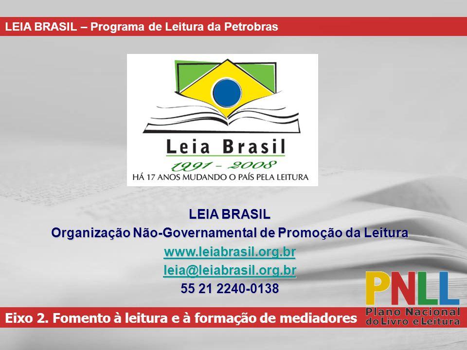 Organização Não-Governamental de Promoção da Leitura