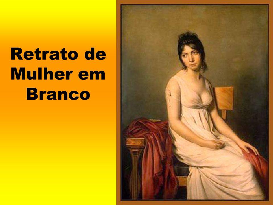 Retrato de Mulher em Branco