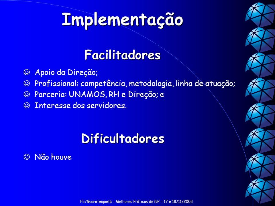Implementação Facilitadores