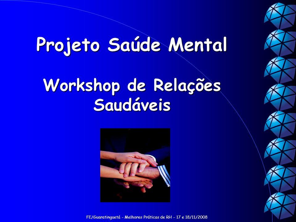 Workshop de Relações Saudáveis
