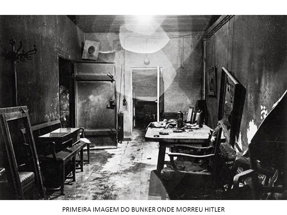 PRIMEIRA IMAGEM DO BUNKER ONDE MORREU HITLER