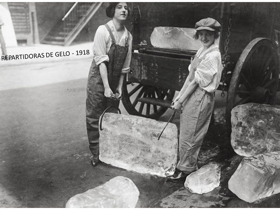 REPARTIDORAS DE GELO - 1918