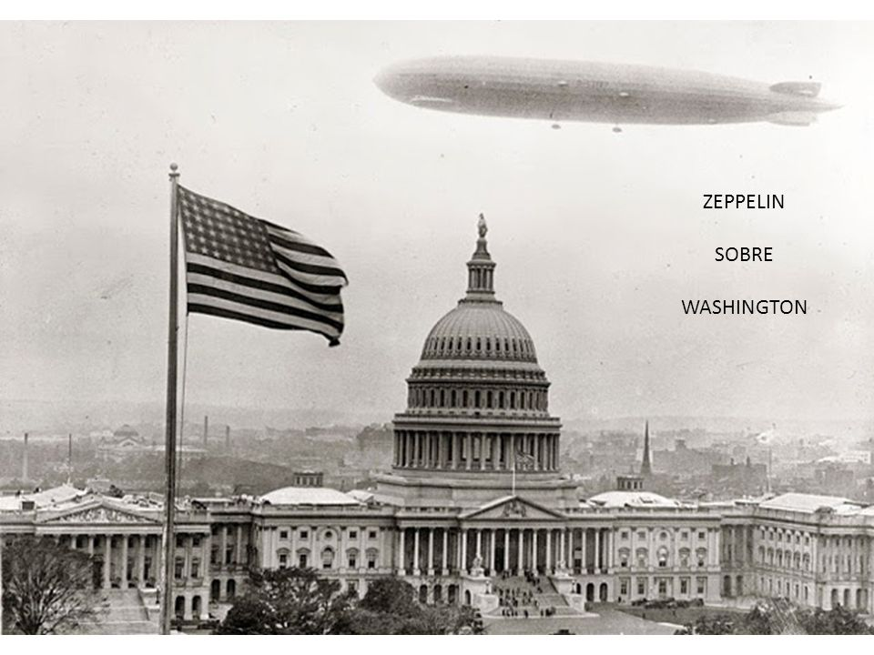 ZEPPELIN SOBRE WASHINGTON