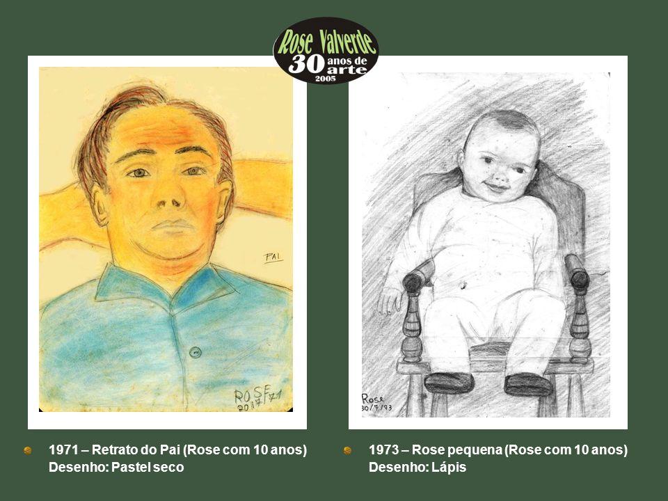 1971 – Retrato do Pai (Rose com 10 anos)