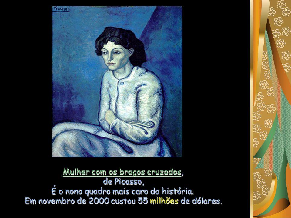 Mulher com os braços cruzados, de Picasso,