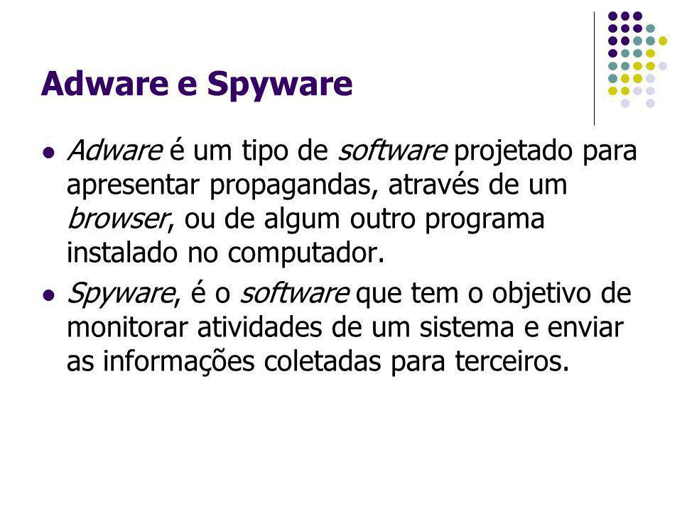 Adware e Spyware