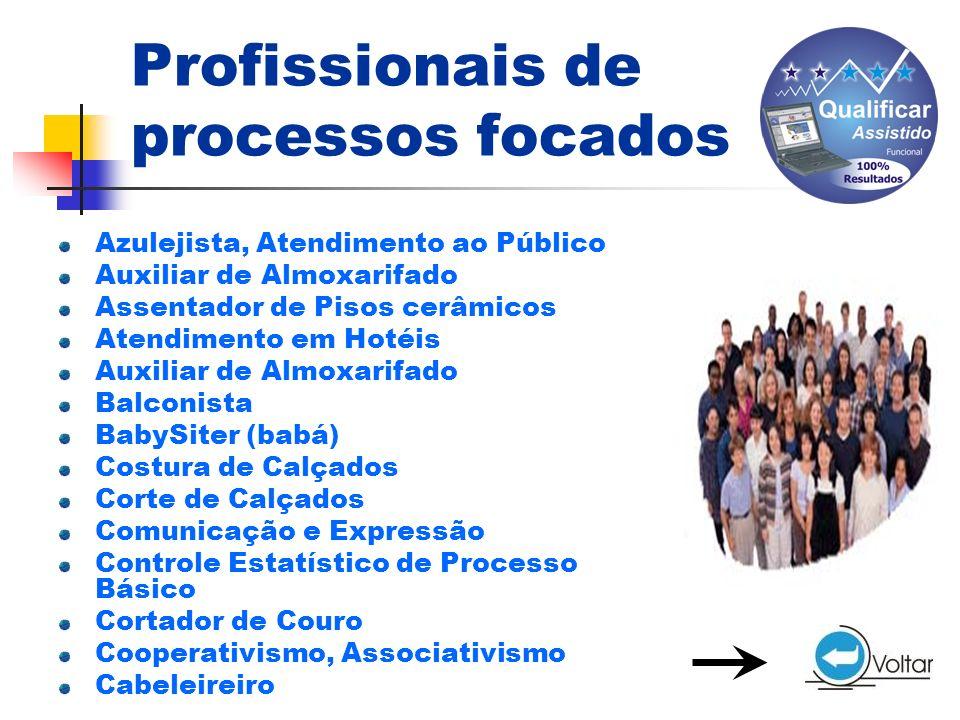 Profissionais de processos focados