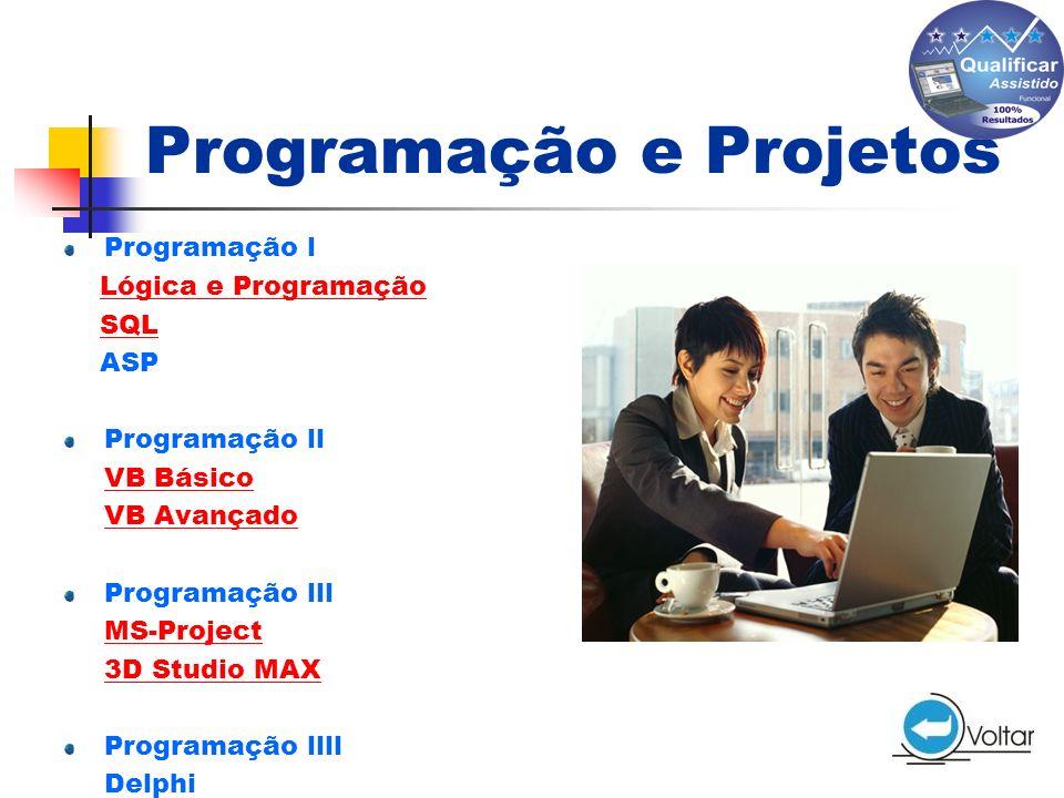 Programação e Projetos