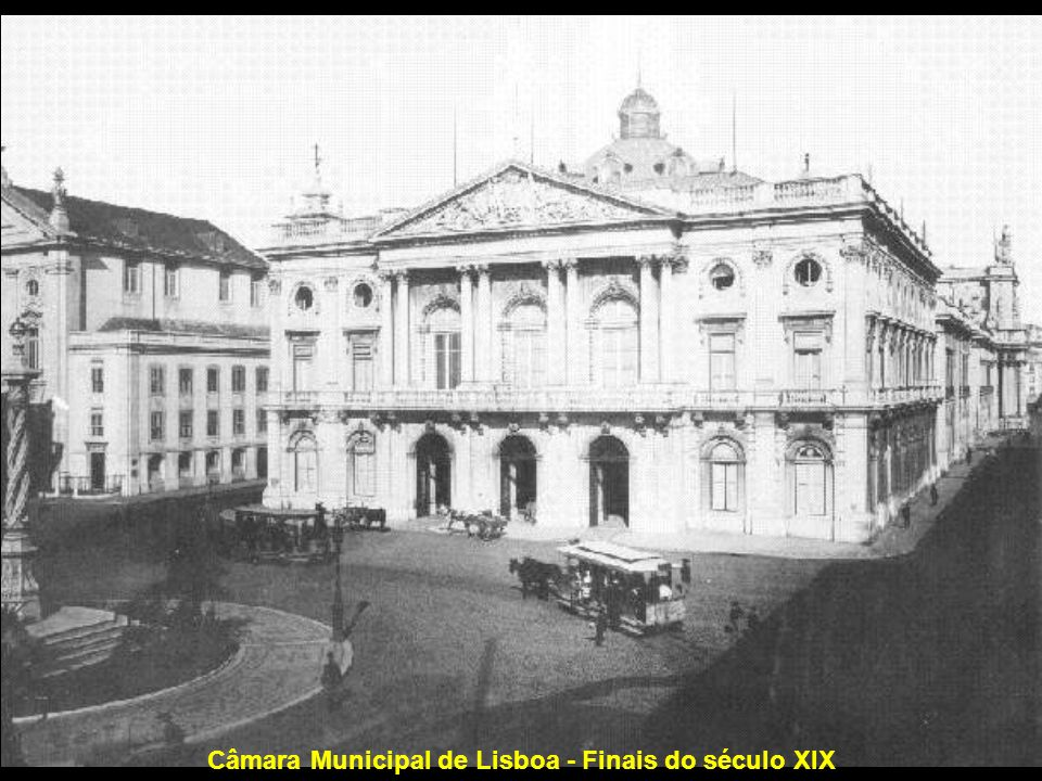 Câmara Municipal de Lisboa - Finais do século XIX
