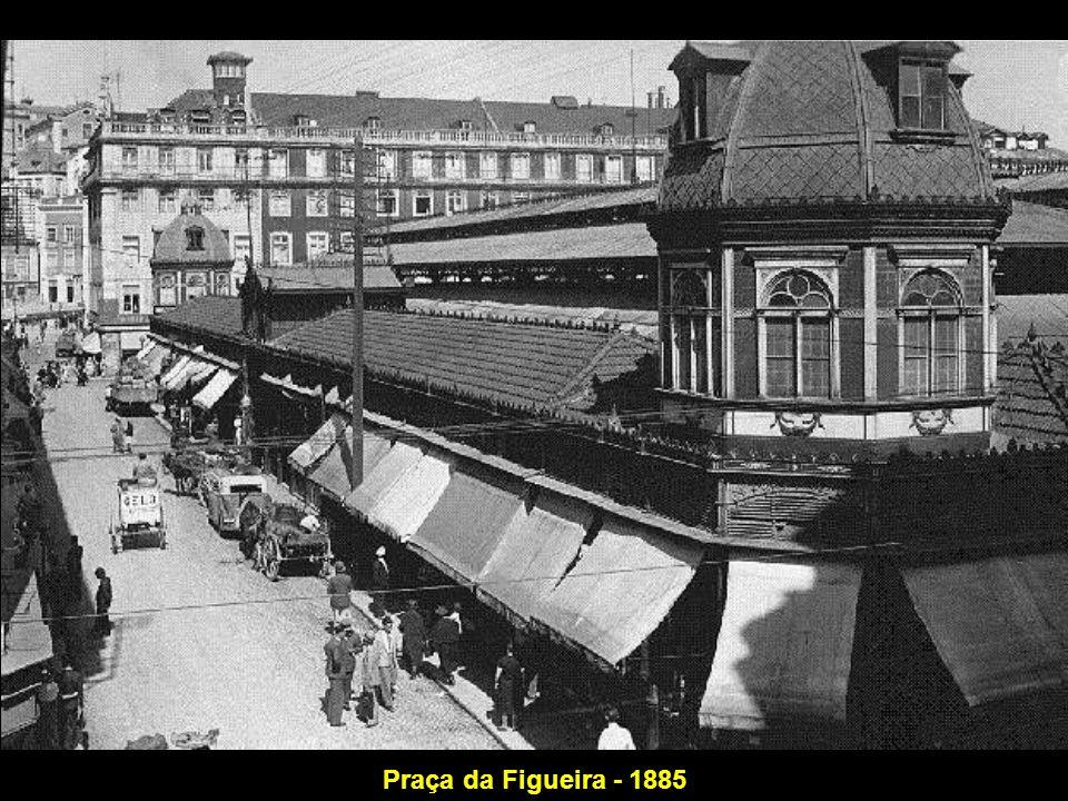 Praça da Figueira - 1885