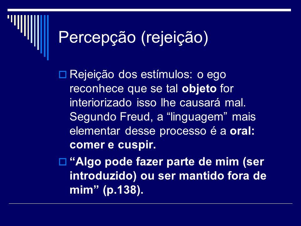 Percepção (rejeição)