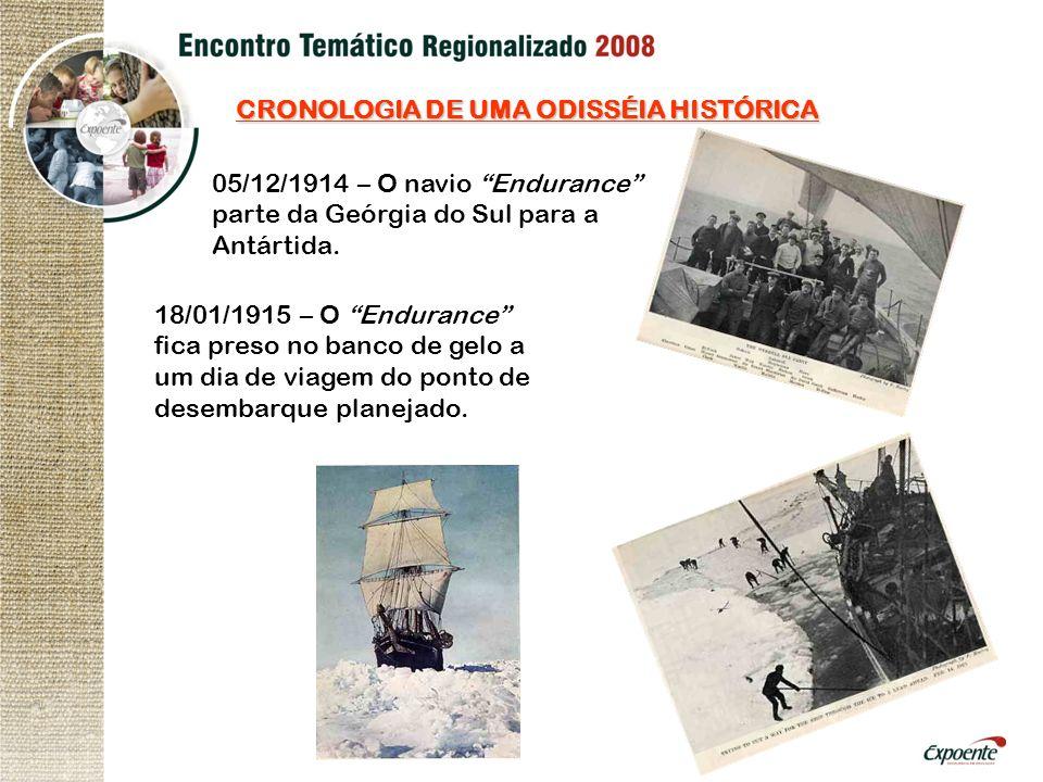 CRONOLOGIA DE UMA ODISSÉIA HISTÓRICA
