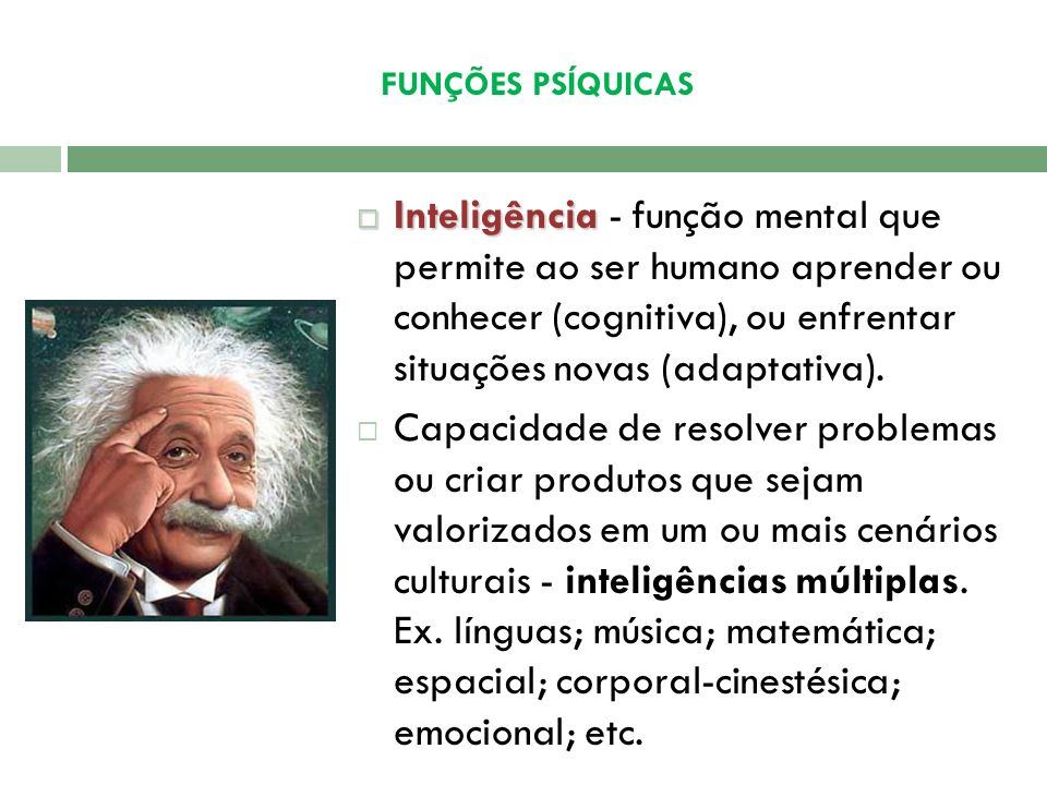 FUNÇÕES PSÍQUICAS