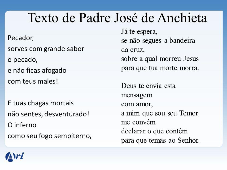 Texto de Padre José de Anchieta
