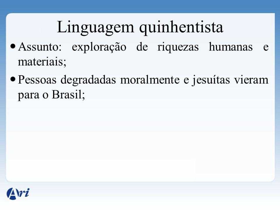 Linguagem quinhentista
