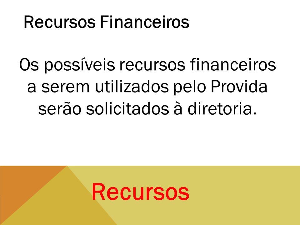 Recursos Recursos Financeiros