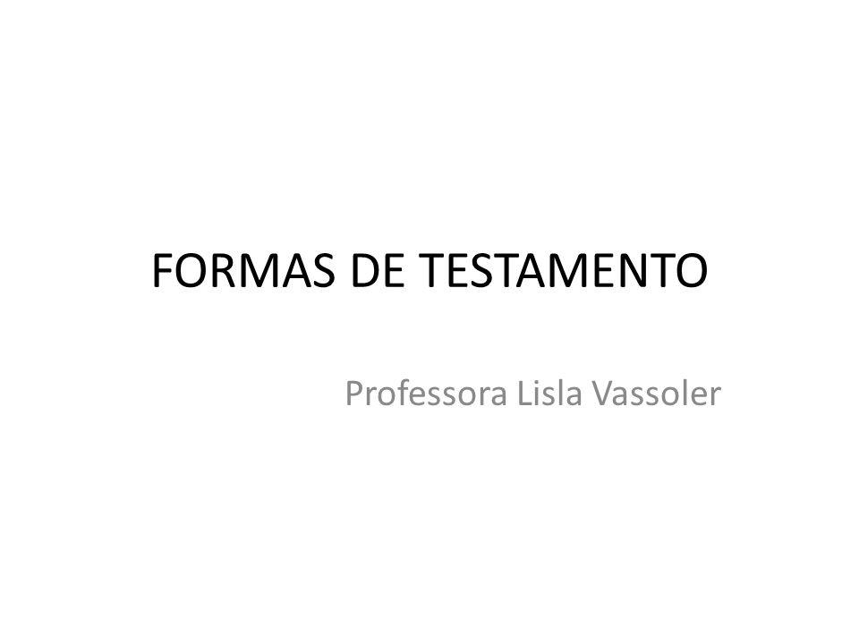 Professora Lisla Vassoler