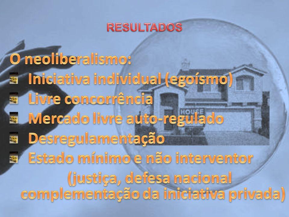 (justiça, defesa nacional complementação da iniciativa privada)