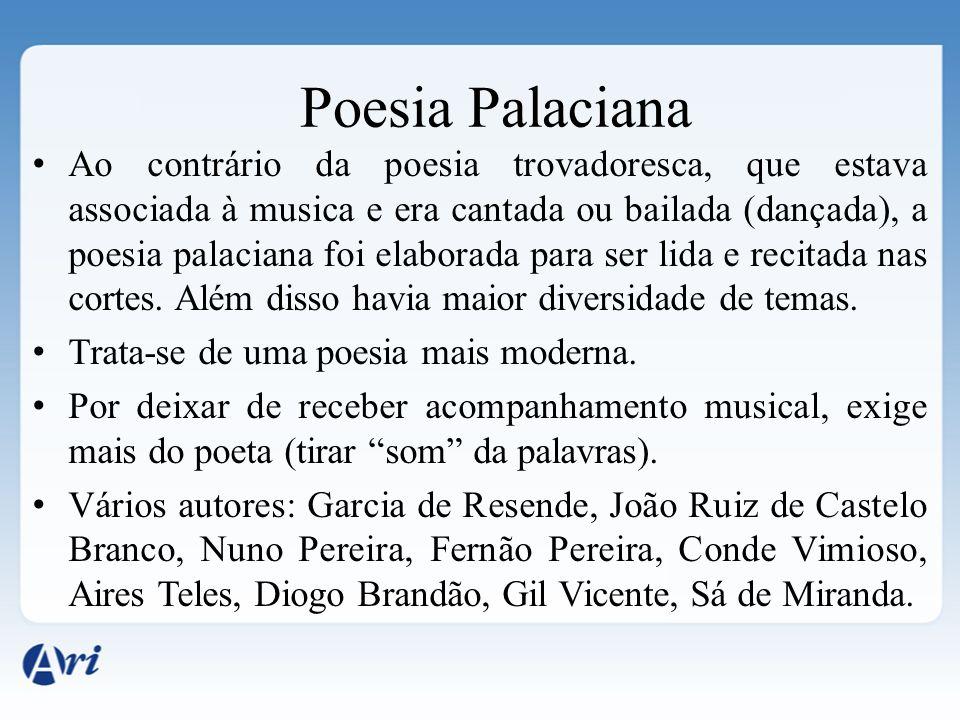 Poesia Palaciana