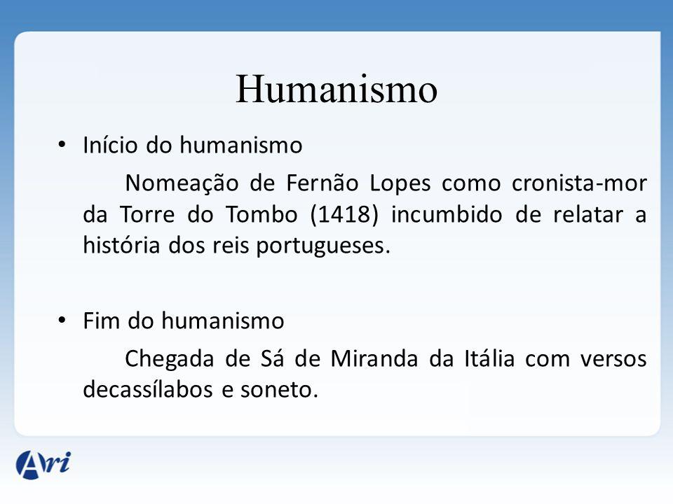 Humanismo Início do humanismo