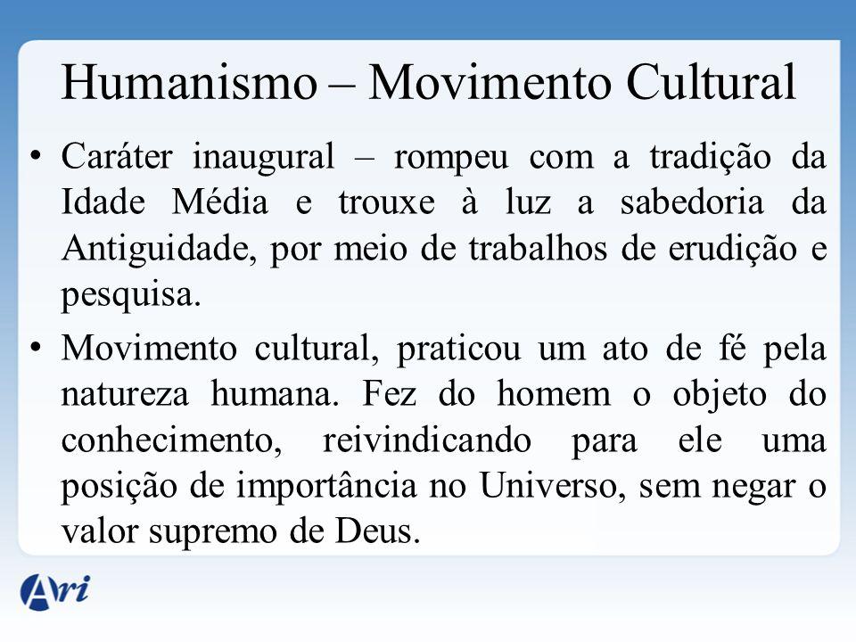 Humanismo – Movimento Cultural