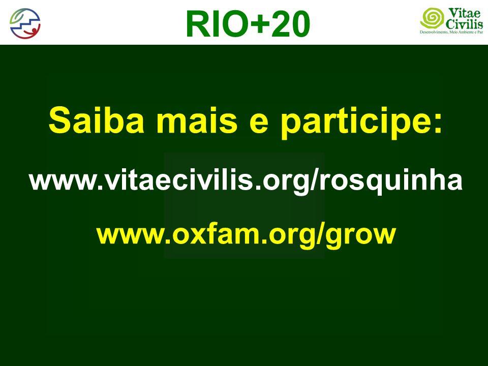 Saiba mais e participe: