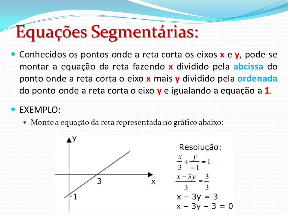 Equações Segmentárias:
