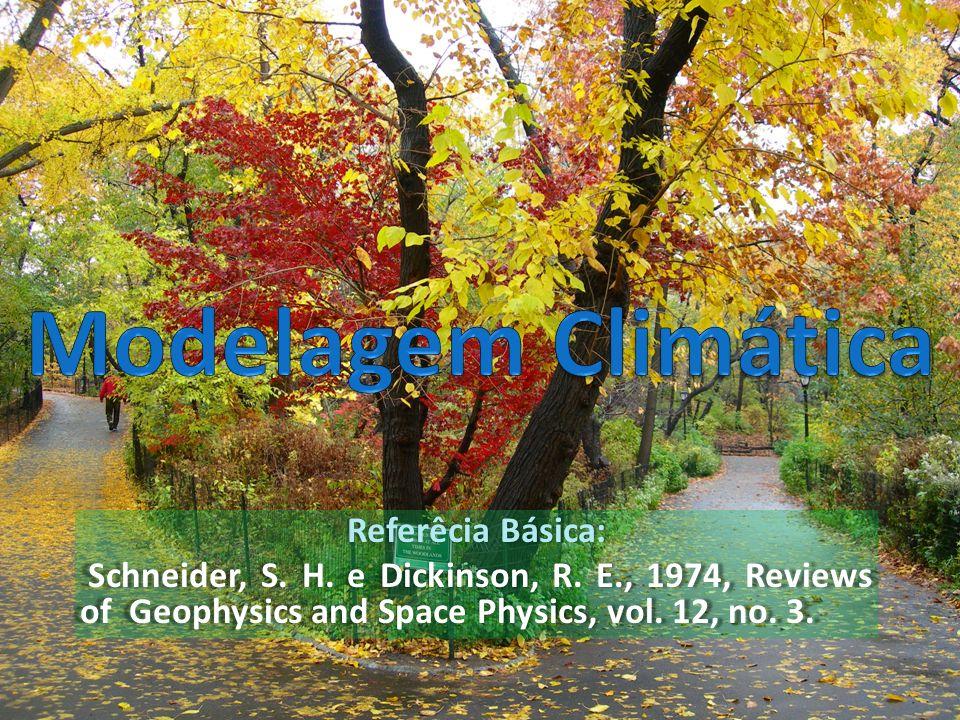 Modelagem Climática Referêcia Básica: