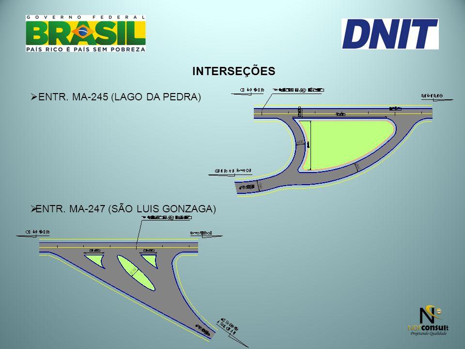 INTERSEÇÕES ENTR. MA-245 (LAGO DA PEDRA)
