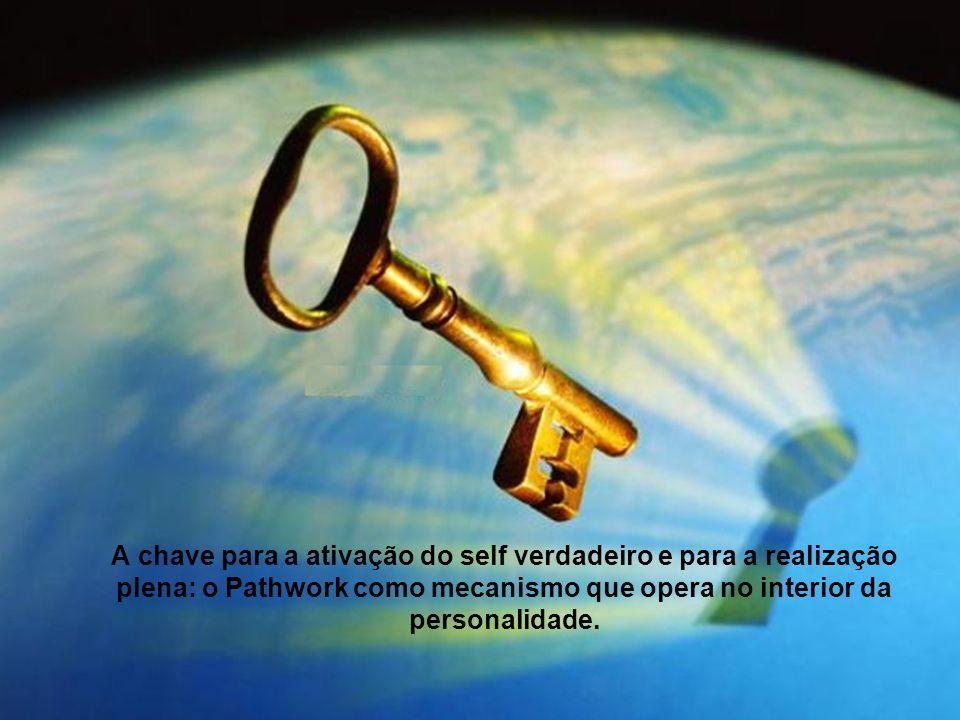 A chave para a ativação do self verdadeiro e para a realização plena: o Pathwork como mecanismo que opera no interior da personalidade.